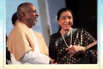 இசைஞானி இளையராஜா இசையில் பாடகி ஆஷா போஸ்லே